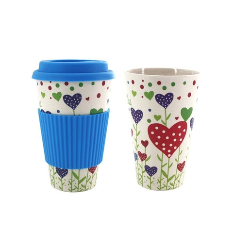Bamboo Fiber Travel Coffee Cup