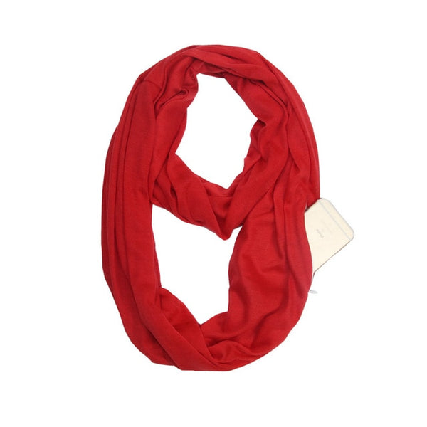 Secret Pocket Infinity Travel Scarf