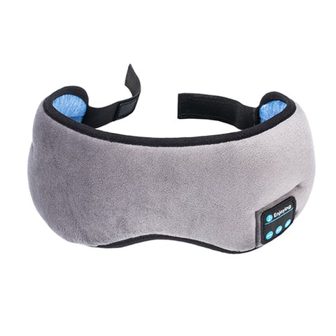 Wireless Earphone Sleep Eye Mask w/ Mic