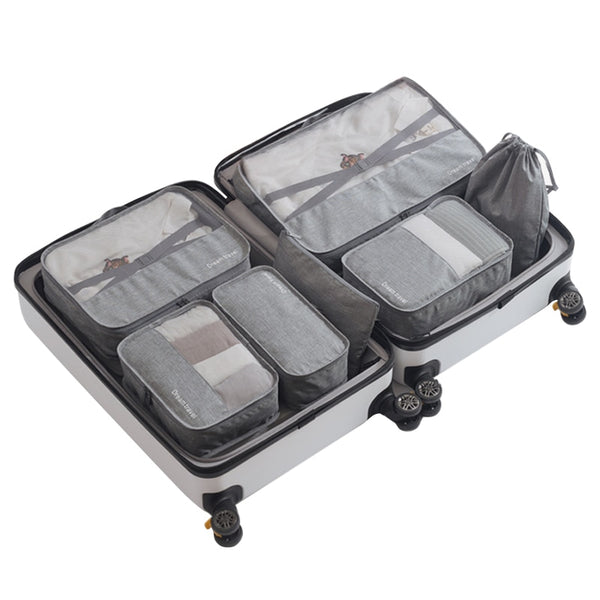 Packing Cube Luggage Travel Organizer Gray 1