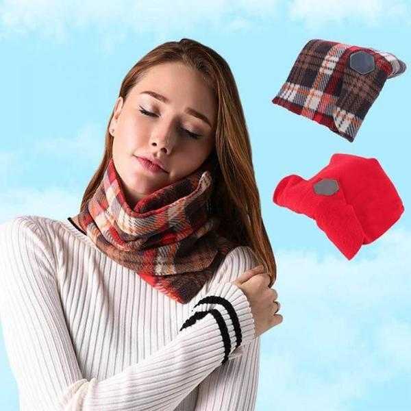 Comfortable Scarf Neck Travel Pillow