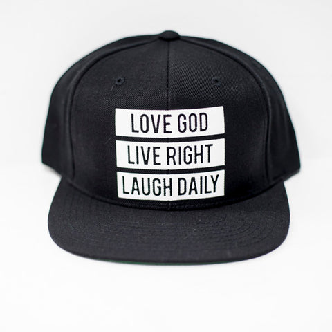 Love God Live Right Snapback