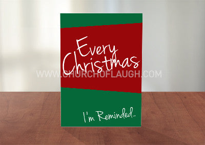 Every Christmas Greeting Card