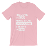 Jamaicans love tea Unisex T-Shirt