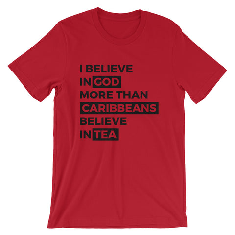 Caribbeans love tea Unisex T-Shirt