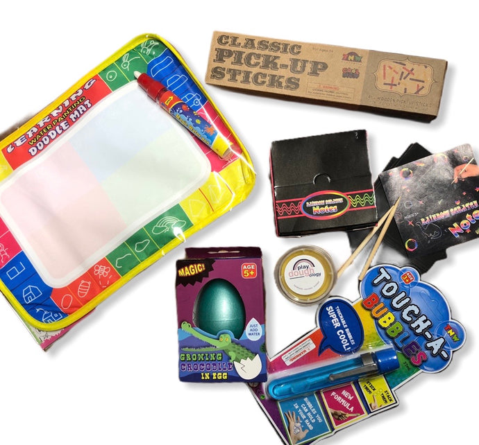 Mini Activity Pack (Boys 2-5 Yrs)