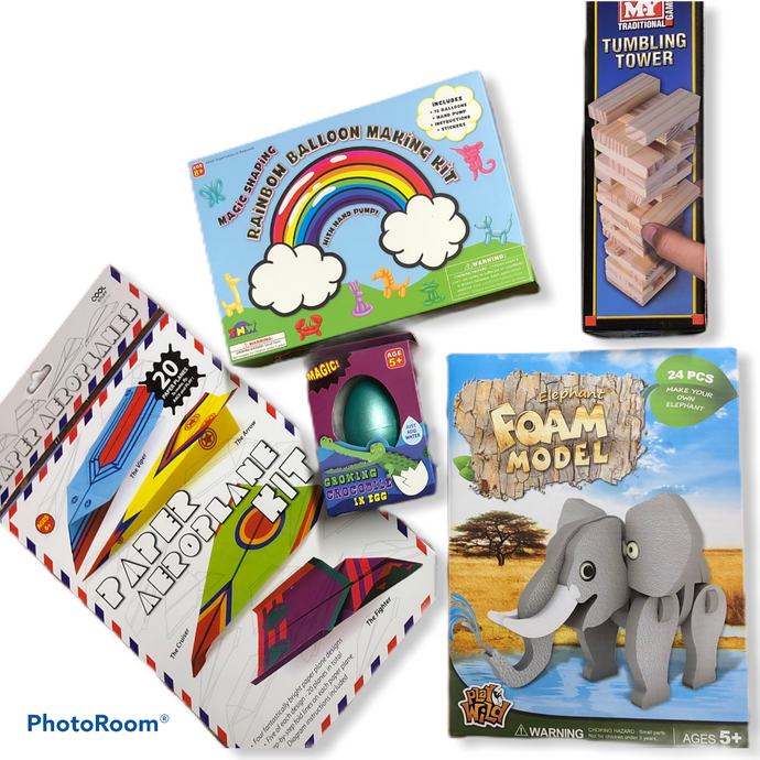 Mini Activity Pack - (Boys 6 Yrs + option 2)