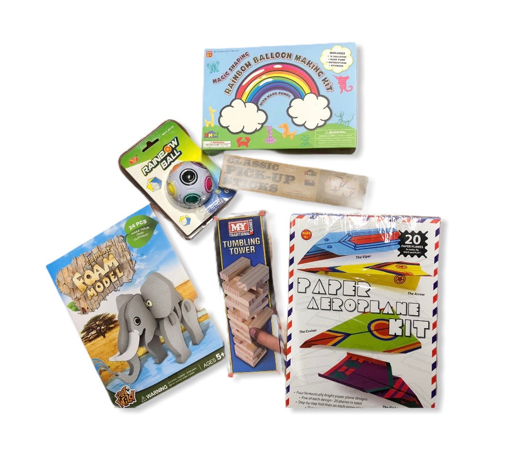 Mini Activity Pack - (Boys 6 Yrs + option 1)