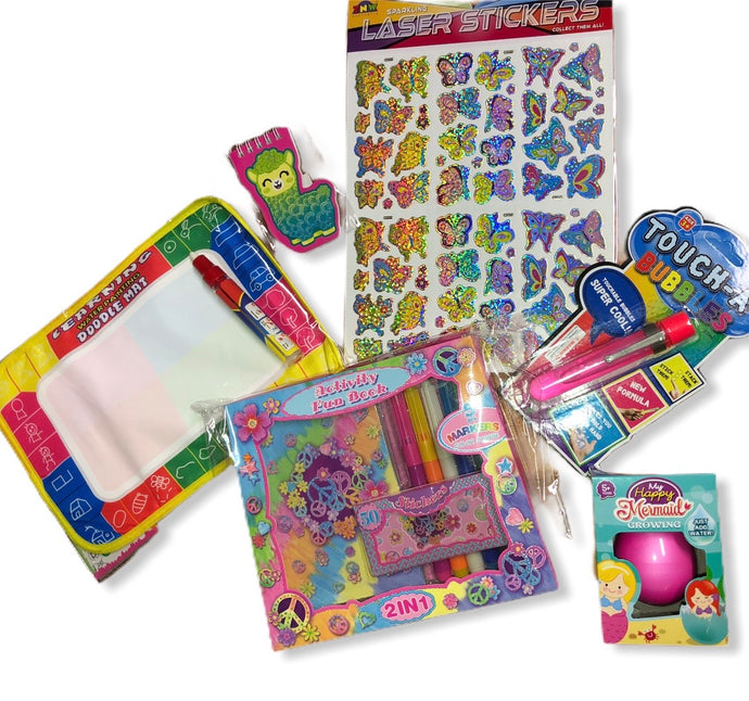 Mini Activity Pack- (Girls 2-5 Yrs)