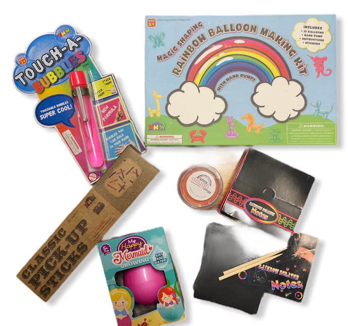 Mini Activity Pack - (Girls 6 Yrs + option 2)