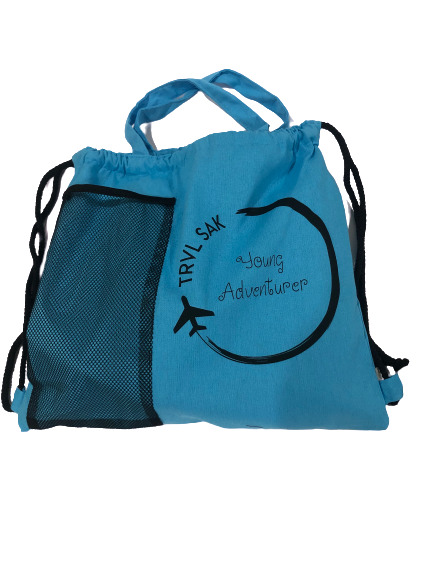 Little Wanderer and Young Adventurer 100% cotton bag
