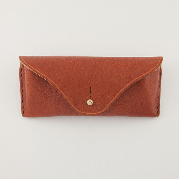 Eyewear Case, Chestnut