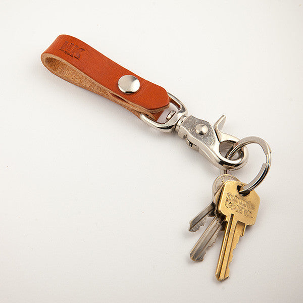 Key Carry Lanyard, Chestnut