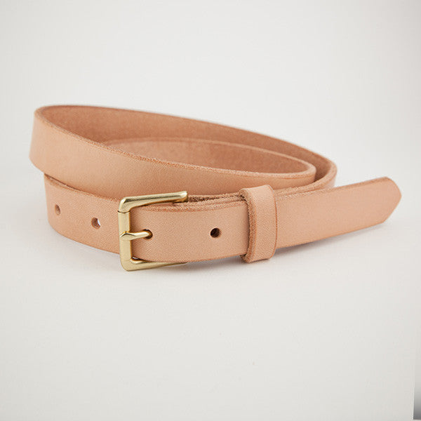 Skinny Belt, Natural