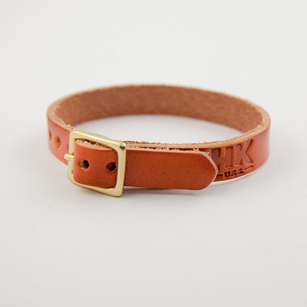 Single-Wrap Bracelet, Chestnut