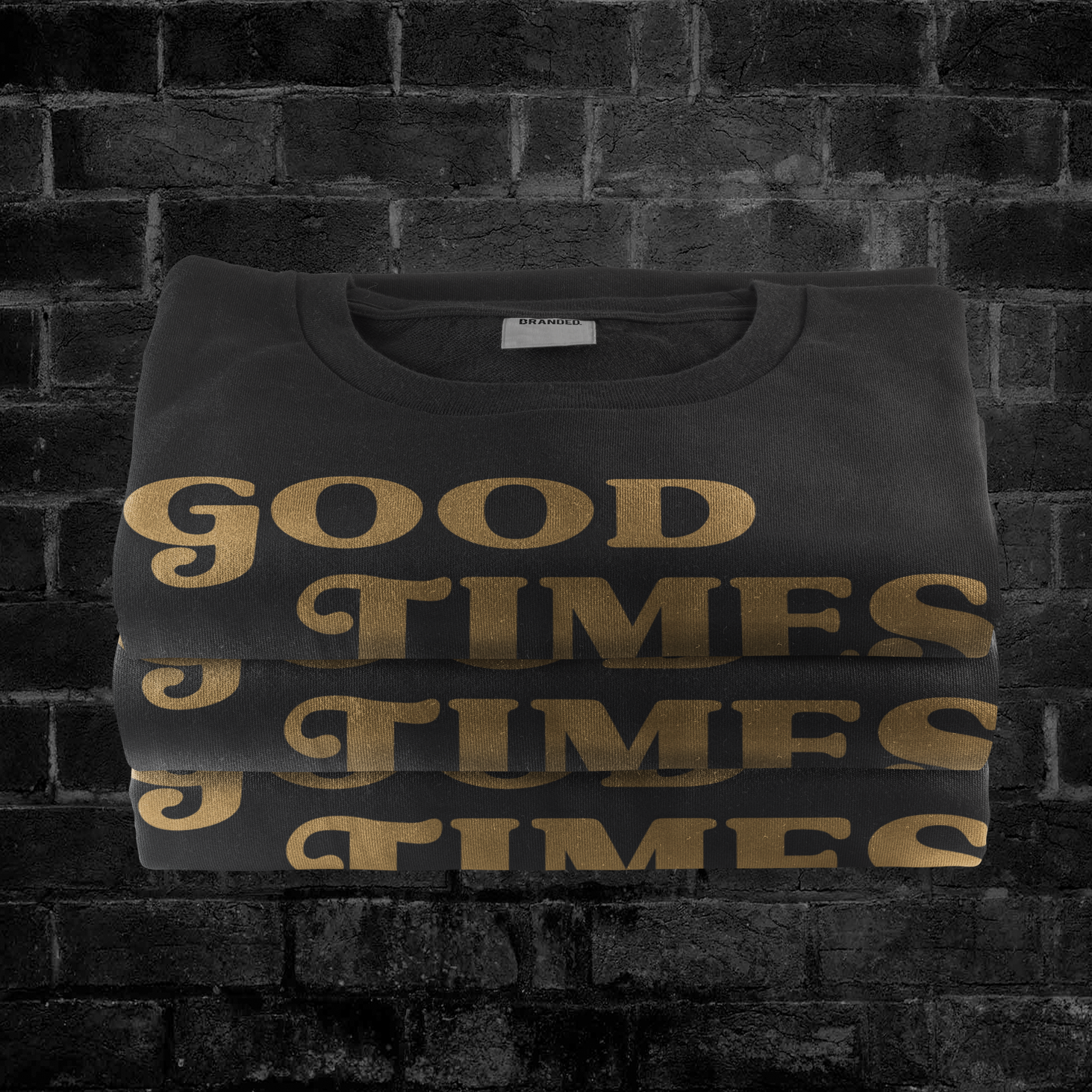 GOOD TIMES CLASSIC (GOLD) #goodtimeslogo