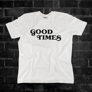 GOOD TIMES CLASSIC (WHITE) #goodtimeslogo