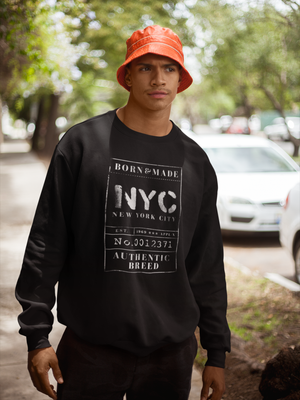 BORN & MADE: NEW YORK #nycsweatshirt