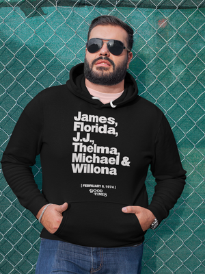 GOOD TIMES CAST (BLACK) HOODIE  #thecasthoodie