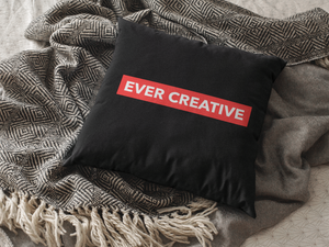 EVER CREATIVE PILLOW #forevercreative