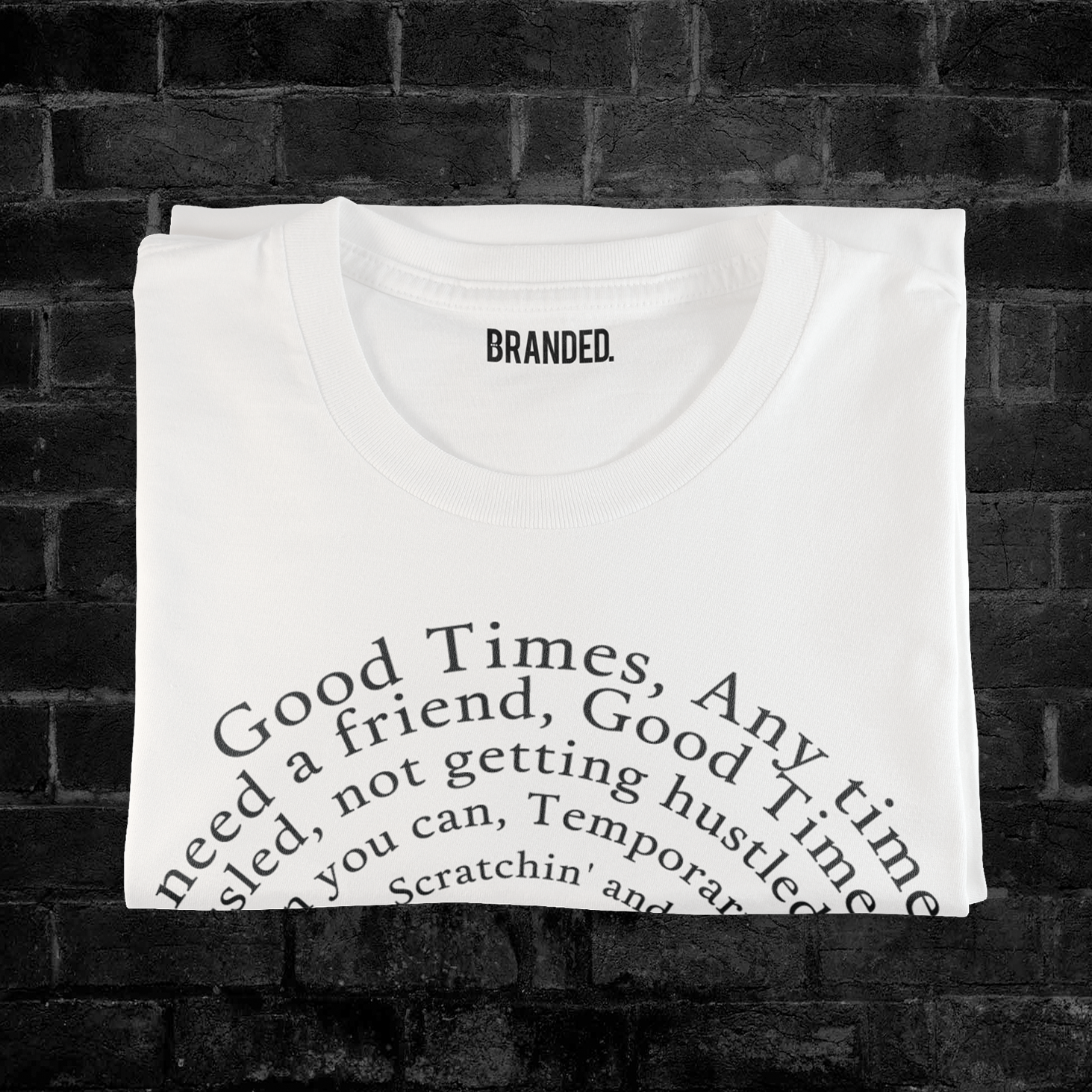 GOOD TIMES LYRICS (WHITE)  #goodtimeslyrics