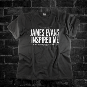 JAMES EVANS INSPIRED ME #myfavoritetvdad