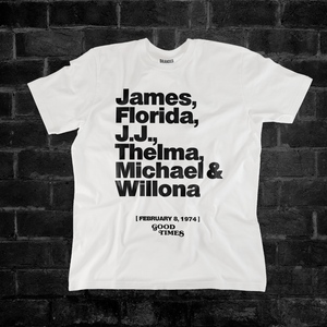 GOOD TIMES CAST (WHITE) #thecastmembers