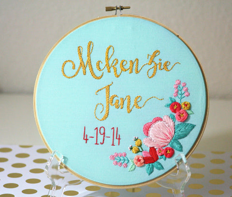 CUSTOM Nursery Decor,Personalized Baby Gifts