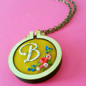 Custom Initial Jewelry, Letter Initial Necklace