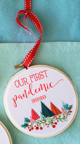 Our First Pandemic Ornament-shipping AFTER Christmas!