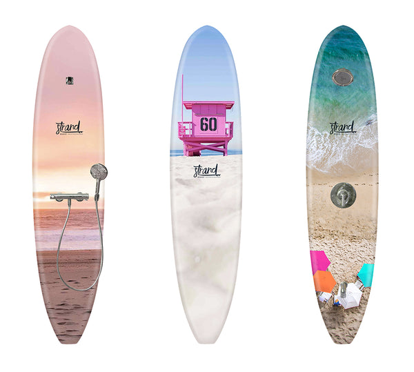 Outdoor Surfboard Shower x Strand Boards