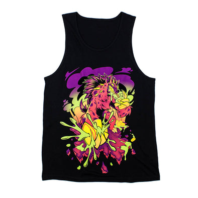 Toxic Kaiju Tank Top - Black