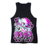 Graffiti Tank Top - Black