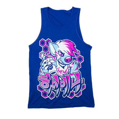 Graffiti Tank Top - Blue [PREORDER]