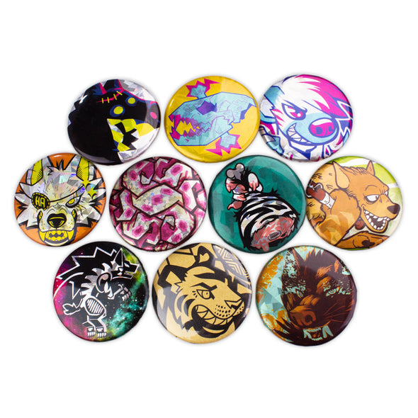 Lion's Share Pin Button Pack