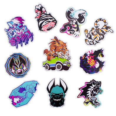 Lion's Share Sticker Pack
