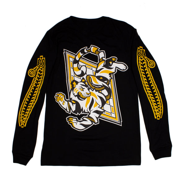 Coming Undone Long Sleeve - Black