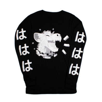 HAHA Long Sleeve - Black