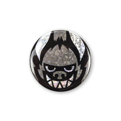 Sparkly Pin Button - Face