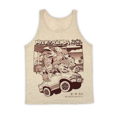 Road Trip Tank Top - Textured Paper