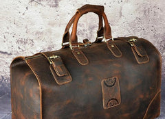 Leather Mens Doctor Bag Weekender Bags Travel Bag Duffle Bag for Men