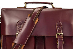 VINTAGE LEATHER MENS Large BRIEFCASEs BUSINESS BRIEFCASE Cool SHOULDER BAG HANDBAGS FOR MEN