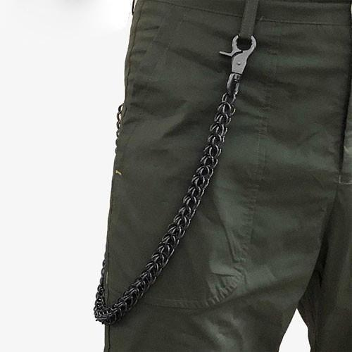 27'' Metal PUNK CHAIN BIKER SILVER Black WALLET CHAIN LONG PANTS CHAIN SILVER Black Jeans Chain Jean ChainS FOR MEN