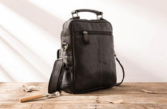 Cool Leather Mens Small Shoulder Bags Messengers Bag for Men