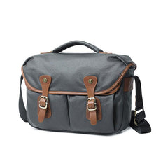 Mens Canvas Camera Messenger Bags Side Bag Courier Bag Camera Shoulder Bag for Men