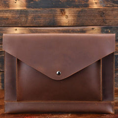 BLACK and BROWN MENS LEATHER SLIM CLUTCH PURSE BAG CLUTCH BAG FOR MEN