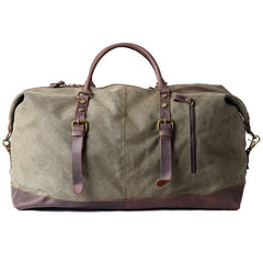 Canvas Mens Cool Weekender Bag Travel Bag Duffle Bags Overnight Bag Holdall Bag for men