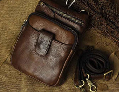Vintage Leather Belt Pouches for Men Waist Bag BELT BAGs Shoulder Bags For Men
