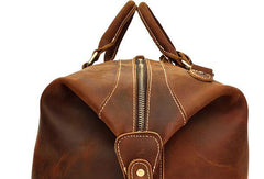 Cool Vintage Leather Mens Duffle Bags Weekender Bags Overnight Bag Travel Bag