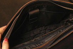 Vintage Leather Messenger Bag Briefcase Handbag Cool Shoulder Bag For Men